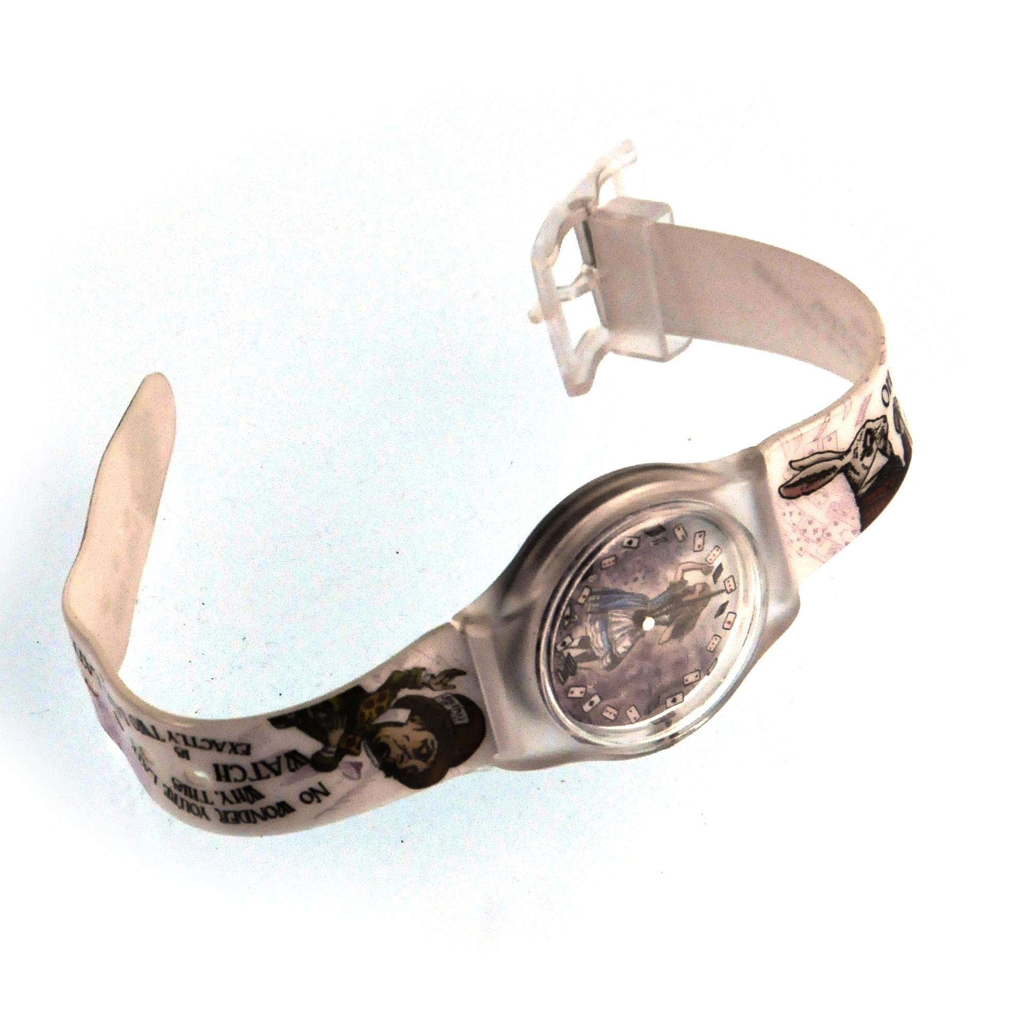 Alice au pays des merveilles montre bracelet ebay - Montre lapin alice au pays des merveilles ...