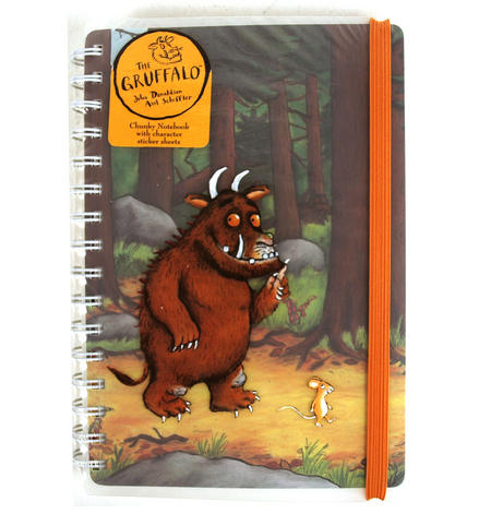 Gruffalo Chunky Notebook And Stickers