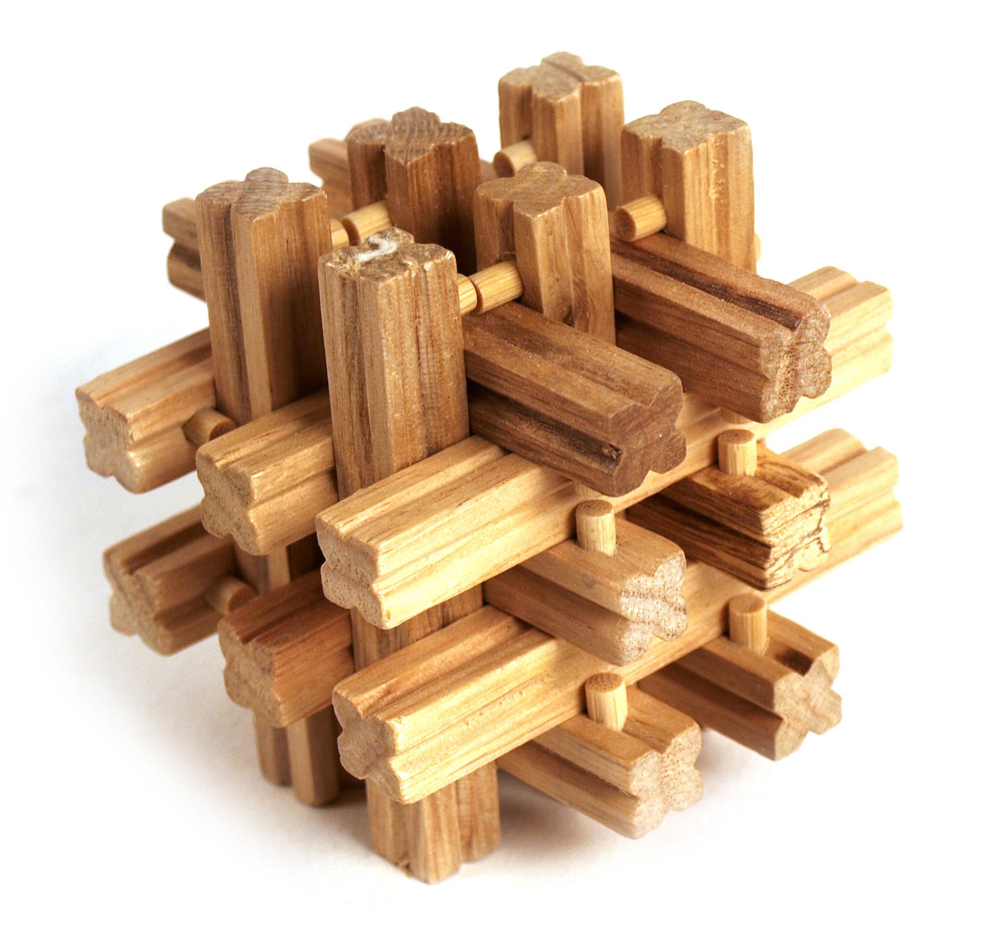 3d holz puzzle matrix grid ebay. Black Bedroom Furniture Sets. Home Design Ideas