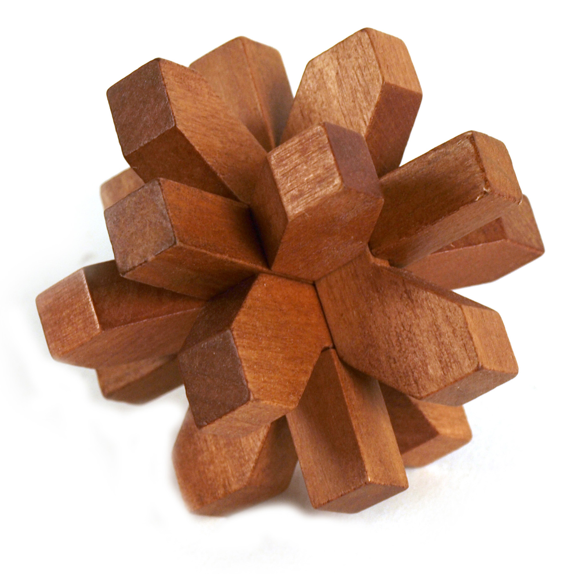 3d Wood Puzzle Snowflake Pink Cat Shop
