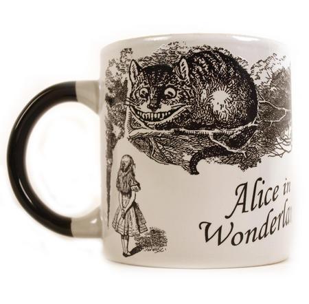 Disappearing Cheshire Cat Mug - Alice In Wonderland Heat Change Mug