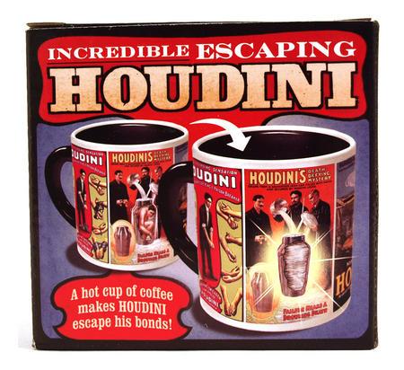 Houdini Escape Artist Heat Change Mug