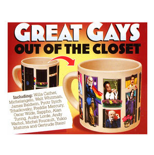 Great Gays - Out Of The Closet - Thermal Heat Change Mug Thumbnail 1