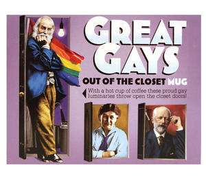Great Gays - Out Of The Closet - Thermal Heat Change Mug Thumbnail 2