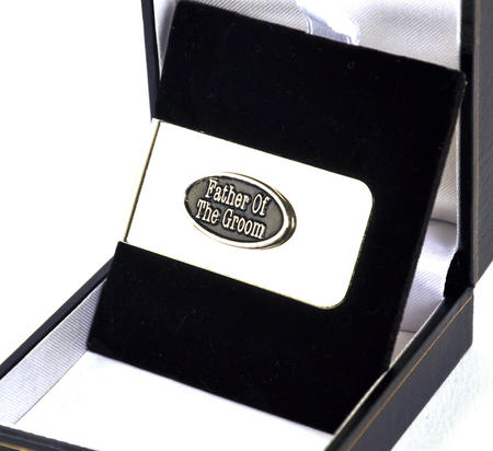 Father Of The Groom Money Clip