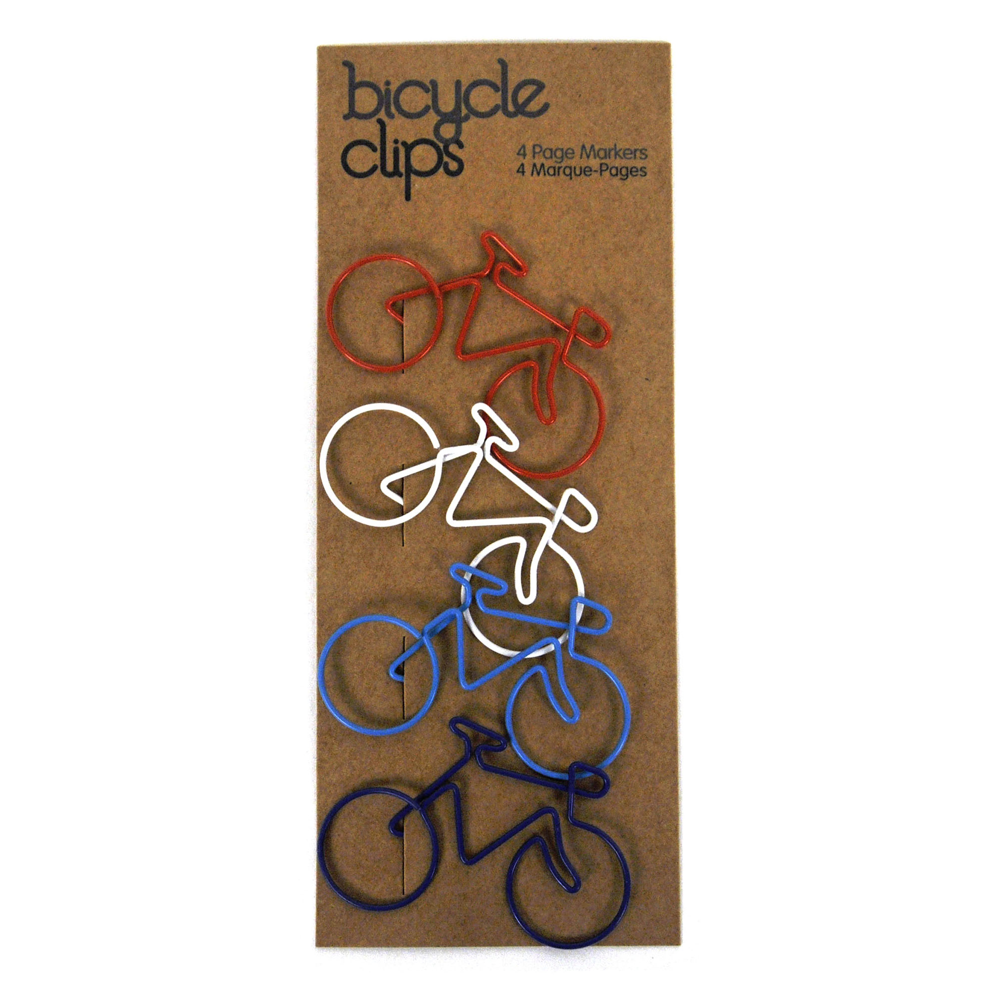 Bicycle Clips - 4 Page Markers