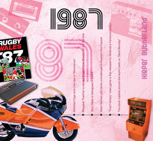 1987 The Classic Years 20 Track Cd Greetings Card