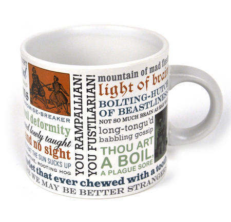 William Shakespeare Insults Mug