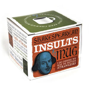 William Shakespeare Insults Mug Thumbnail 2