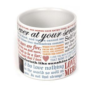 William Shakespeare Love Mug Thumbnail 3