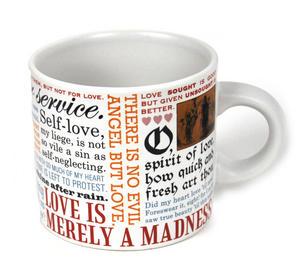William Shakespeare Love Mug Thumbnail 4