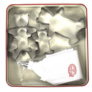 Teddy Bears Picnic Biscuit Cutters Set Thumbnail 2