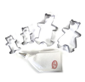 Teddy Bears Picnic Biscuit Cutters Set Thumbnail 4