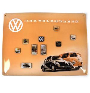 Volkswagen Fridge Magnet Memo Board Thumbnail 1