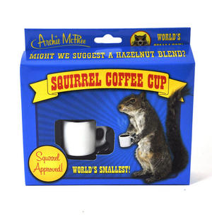 Squirrel Coffee Cup Thumbnail 1