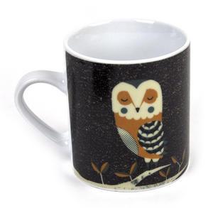 Owl - Dusk Wildlife Magpie Mug Thumbnail 3