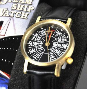 Steamship Watch - Retro Engine Room Telegraph Wristwatch Thumbnail 2