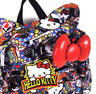 View Item Hello Kitty Loungefly Sticker Print Backpack