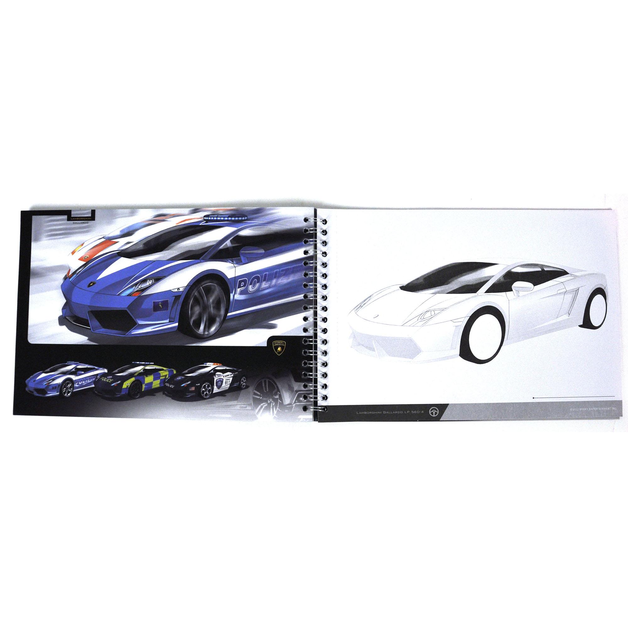 Car Designer Sketchbook Set Lamborghini Gallardo Ebay