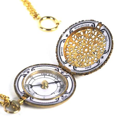 Pocket Compass - Hemispherium Antique Scientific Instument
