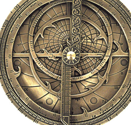 Astrolabe - Hemispherium Antique Scientific Instument