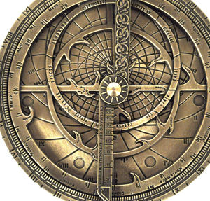 Astrolabe - Hemispherium Antique Scientific Instument Thumbnail 1