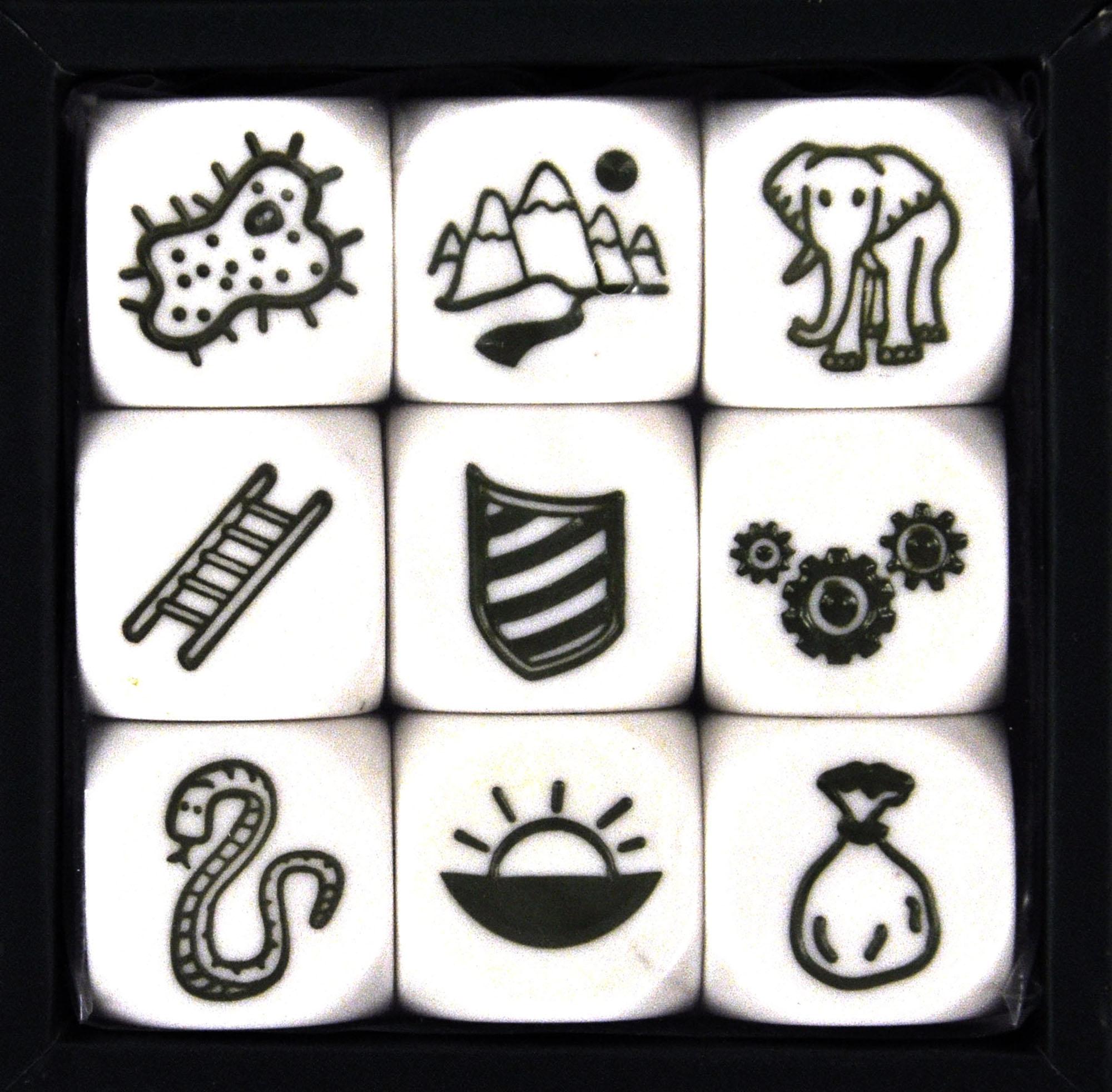 Story Cubes Symbole Bedeutung