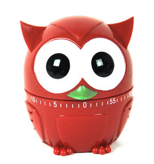 Owl Kitchen Timer - Random Colours Thumbnail 1