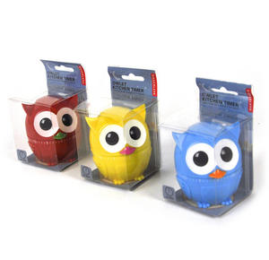 Owl Kitchen Timer - Random Colours Thumbnail 2