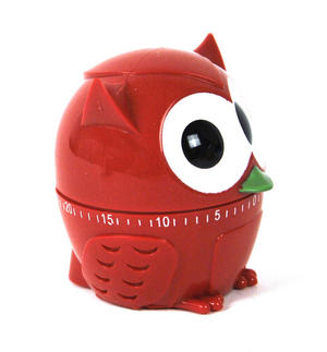 Owl Kitchen Timer - Random Colours Thumbnail 3
