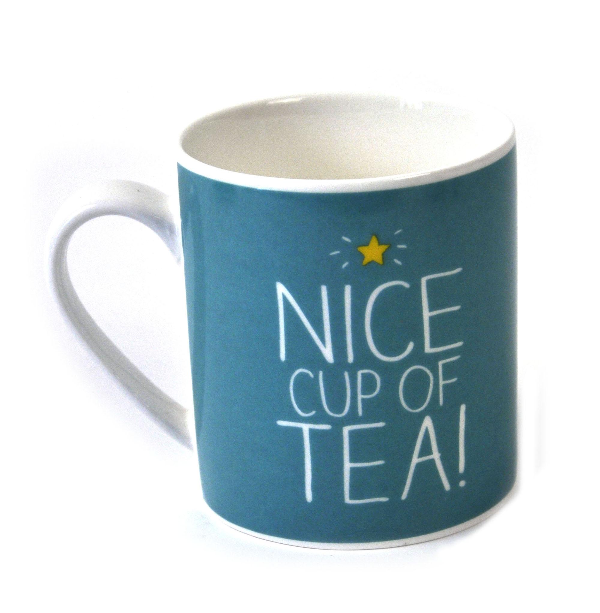Nice Cup Of Tea Mug Pink Cat Shop