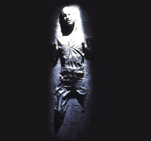 Star Wars Han Solo In Carbonite Ice Tray Thumbnail 1
