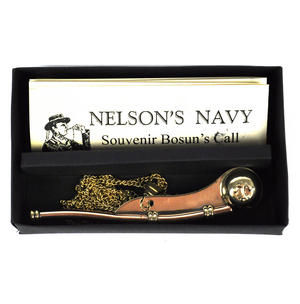 Bosun's Call Whistle - Nelson's Navy Souvenir Thumbnail 3