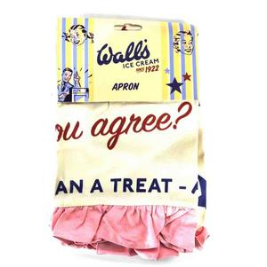 Walls Ice Lollies Anne Loves Strawberry Apron With Frill Thumbnail 2