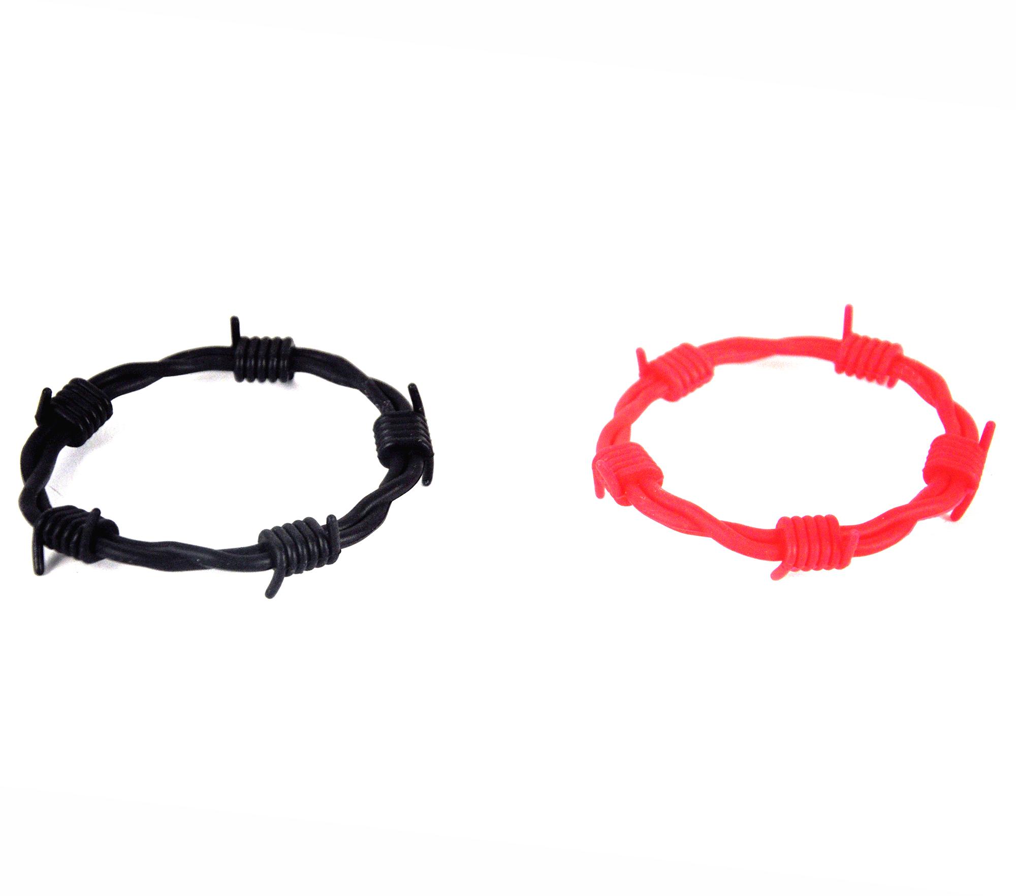 Barbed Wire Bracelet Bands Random Colours Ebay