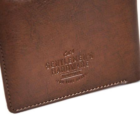 Fortune Favours The Brave' Gentlemen's Wallet