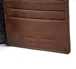 Fortune Favours The Brave' Gentlemen's Wallet Thumbnail 3