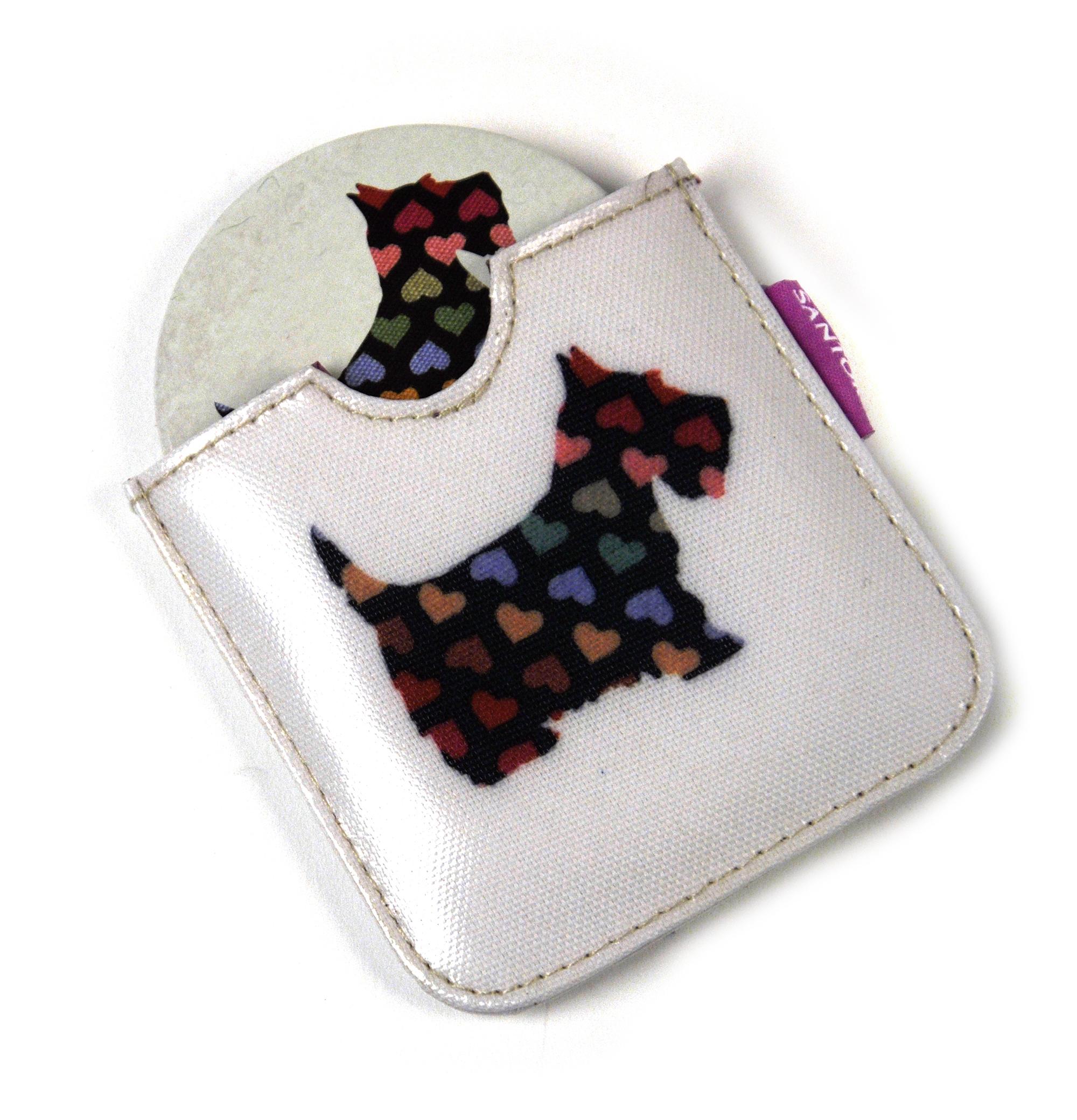 Scottie chiens compact poche miroir de sac main ebay for Miroir de poche