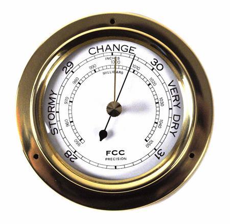Classic Brass Barometer 110Mm 1506B