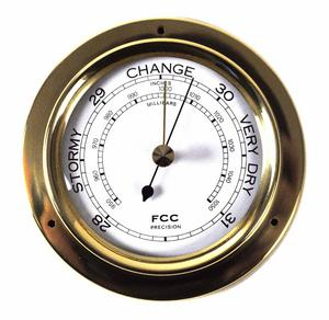 Classic Brass Barometer 110Mm 1506B Thumbnail 1