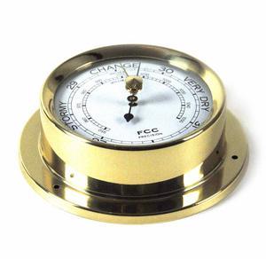 Classic Brass Barometer 110Mm 1506B Thumbnail 2