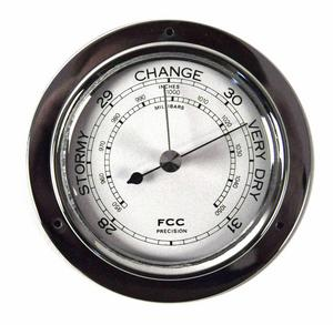 Classic Chrome Barometer 110Mm 1506Bch Thumbnail 2