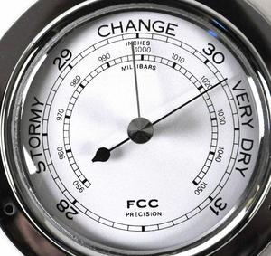 Classic Chrome Barometer 125Mm 1508Bch Thumbnail 1