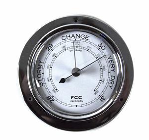 Classic Chrome Barometer 125Mm 1508Bch Thumbnail 3