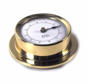 Classic Brass Tide Clock 110Mm 1506Td Thumbnail 3