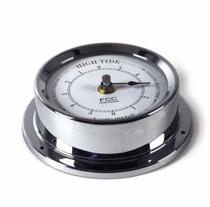 Classic Chrome Tide Clock 125Mm 1508Tdch Thumbnail 3