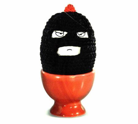 Terrorist Egg Cosy - Egg Bandit Egg Warmer