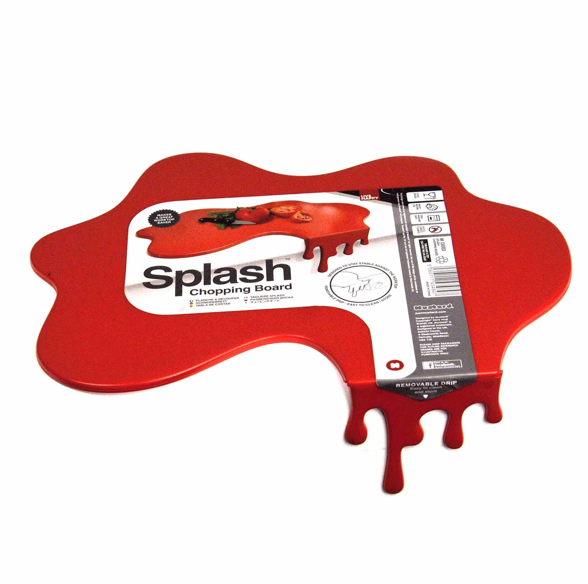 Splashed chopping board ebay for Splash board kitchen
