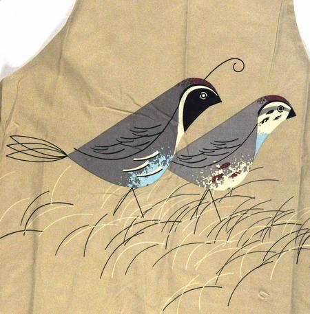 Quails Birdy  Apron By Magpie