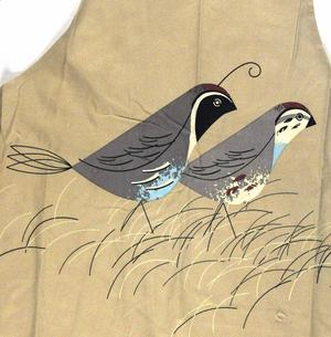 Quails Birdy  Apron By Magpie Thumbnail 1